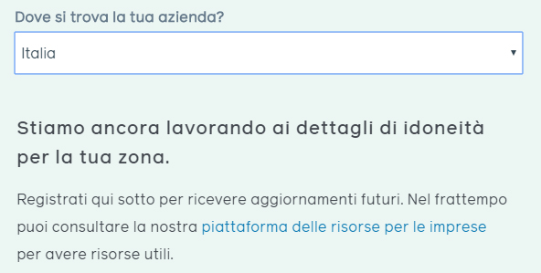 Italia fra i luoghi in fase di validazione per il finanziamento di Facebook alle PMI per far fronte alla situaizone coronavirus